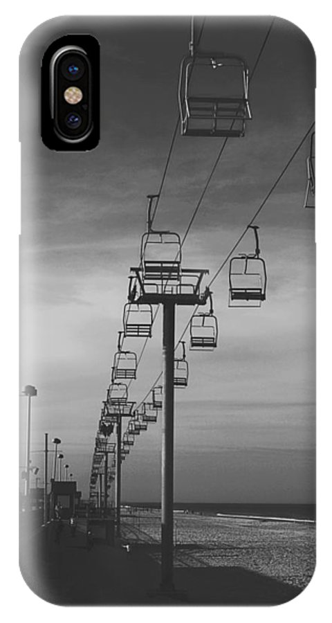 Seaside IPhone X Case featuring the photograph Skyride by Conor McLaughlin