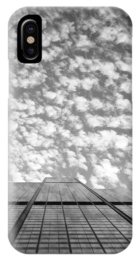 City Photographs IPhone X Case featuring the photograph Skyscraper by Kristopher Kreutzer