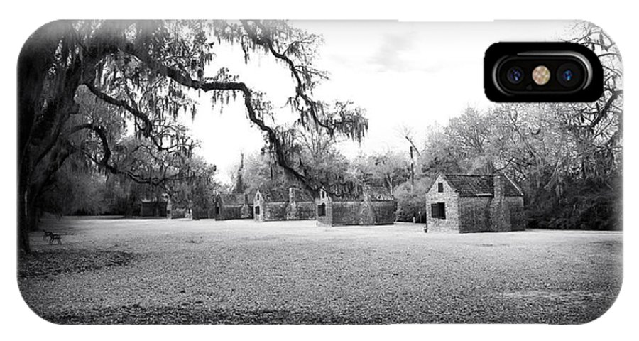 Slave Quarters IPhone X Case featuring the photograph Slave Quarters by John Rizzuto
