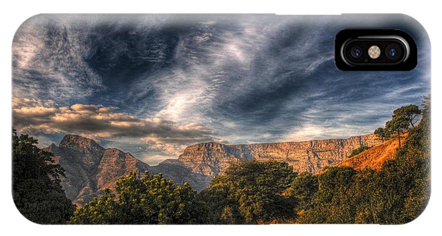 Babur Yakar IPhone X Case featuring the photograph Slide View by Babur Yakar
