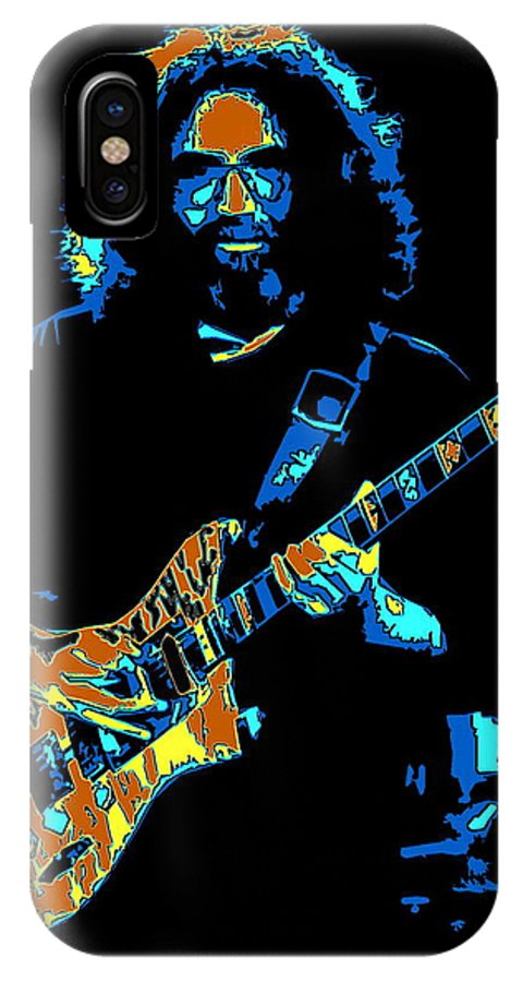 Jerry Garcia IPhone X Case featuring the photograph Slipknot 1 by Ben Upham