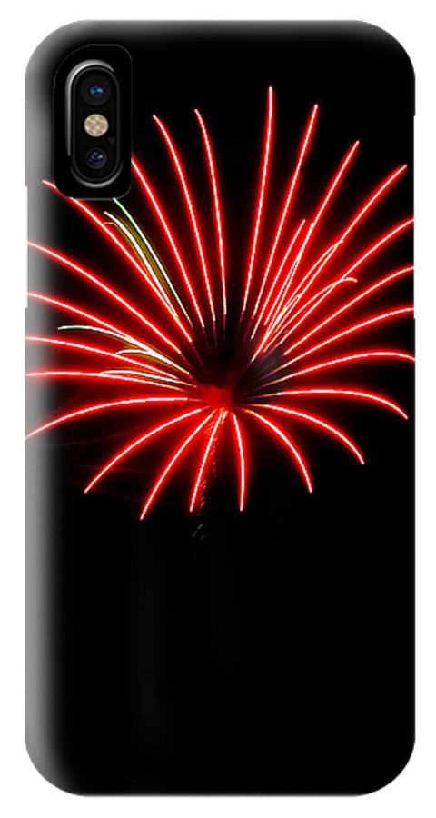 Fireworks IPhone X Case featuring the photograph Small Flower by Devinder Sangha