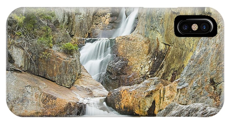 Maine IPhone X Case featuring the photograph Smalls Falls In Western Maine by Keith Webber Jr
