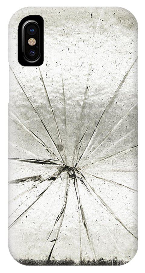 Glass IPhone X Case featuring the photograph Smashing by Margie Hurwich