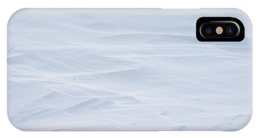 Winter IPhone X / XS Case featuring the photograph Snow Drift by Heather Allen