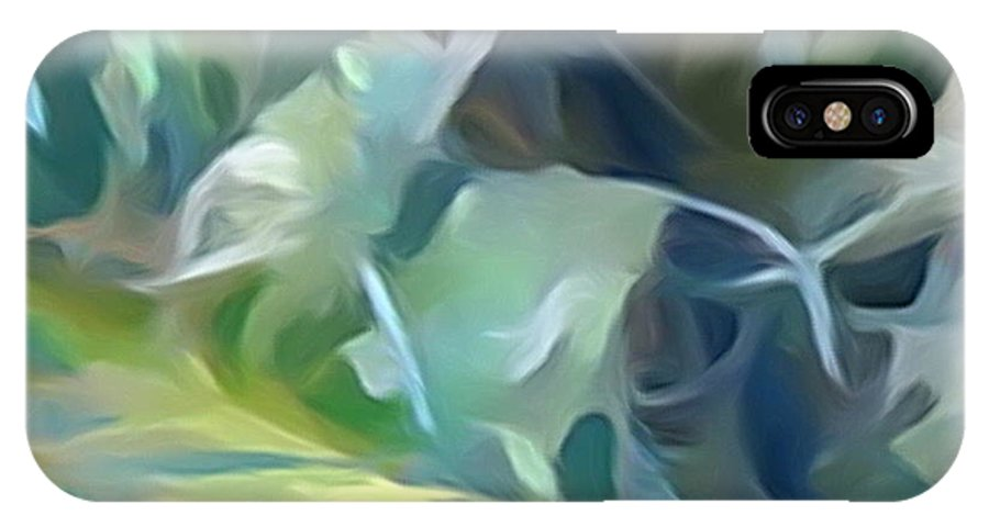Diane Dimarco Art IPhone X Case featuring the photograph Snow Flower by Diane DiMarco