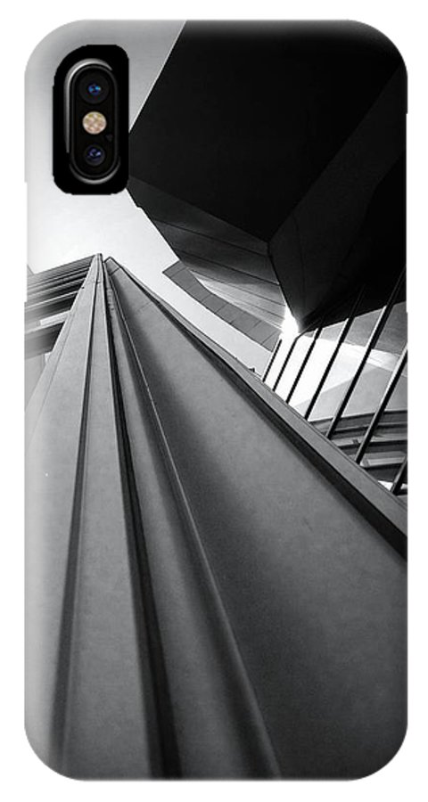 Architecture IPhone X Case featuring the photograph Soaring Planes by Mark David Gerson
