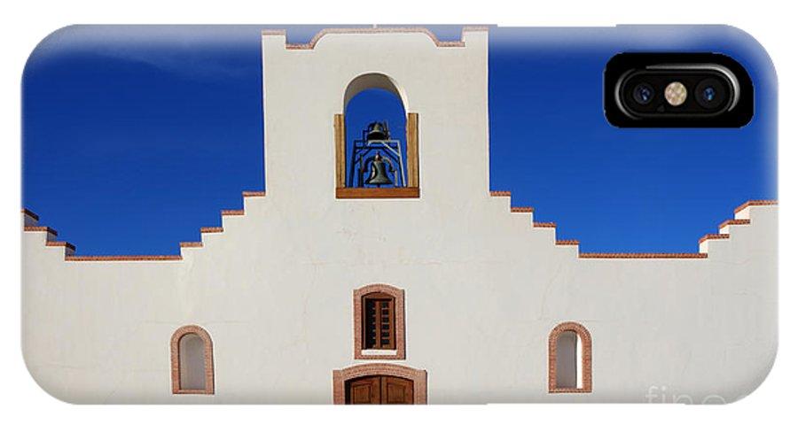 Socorro IPhone X Case featuring the photograph Socorro Mission La Purisima Texas by Bob Christopher