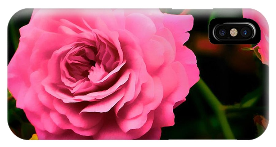 Photograph IPhone X Case featuring the photograph Soft And Beautiful by Don Dennis