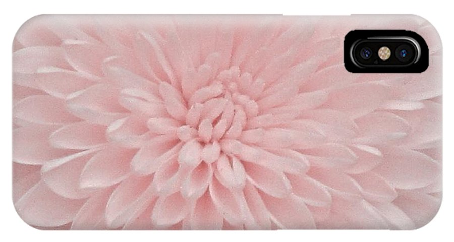 Pink IPhone X Case featuring the photograph Soft by Christine Bradley
