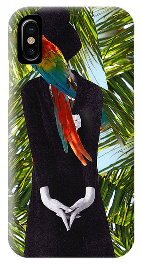 Tropic IPhone X Case featuring the photograph Some Tropic by Julia Luzia