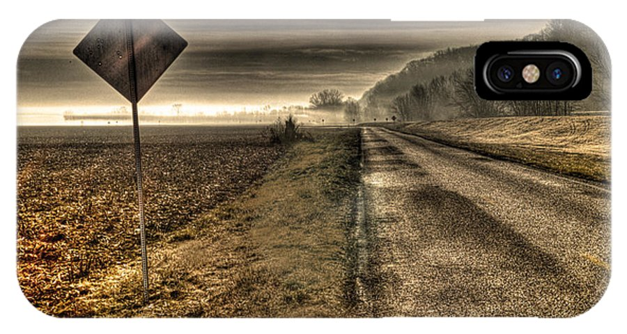 Song Of The Open Road IPhone X Case featuring the photograph Song Of The Open Road by William Fields
