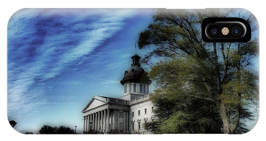 Scenic Tours IPhone X Case featuring the photograph South Carolina State House by Skip Willits