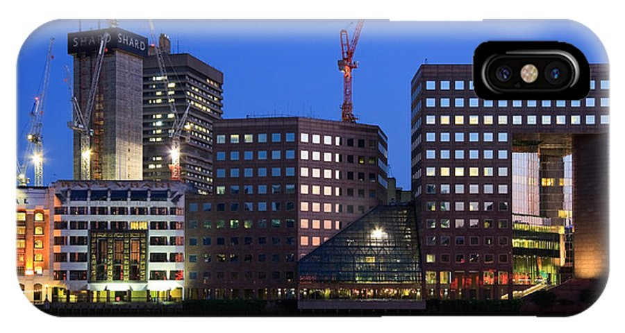 Great Britain IPhone X Case featuring the photograph Southbank In London. by Milan Gonda
