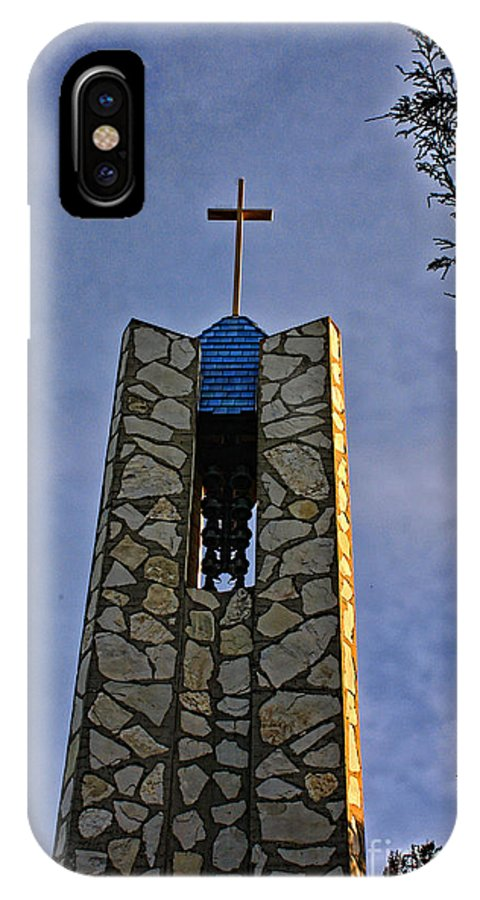 Southern California IPhone X / XS Case featuring the photograph Southern California's Wafarers Chapel 1 by Tommy Anderson