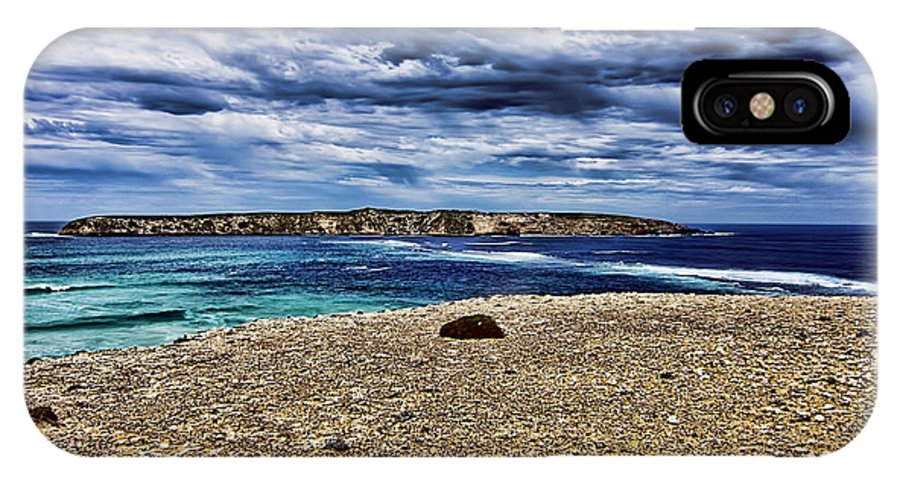 IPhone X Case featuring the photograph Southern Coastline V6 by Douglas Barnard