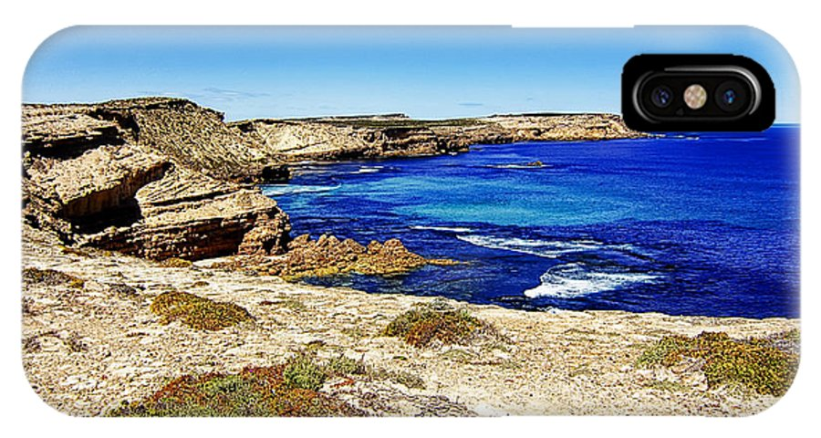IPhone X Case featuring the photograph Southern Coastline V7 by Douglas Barnard