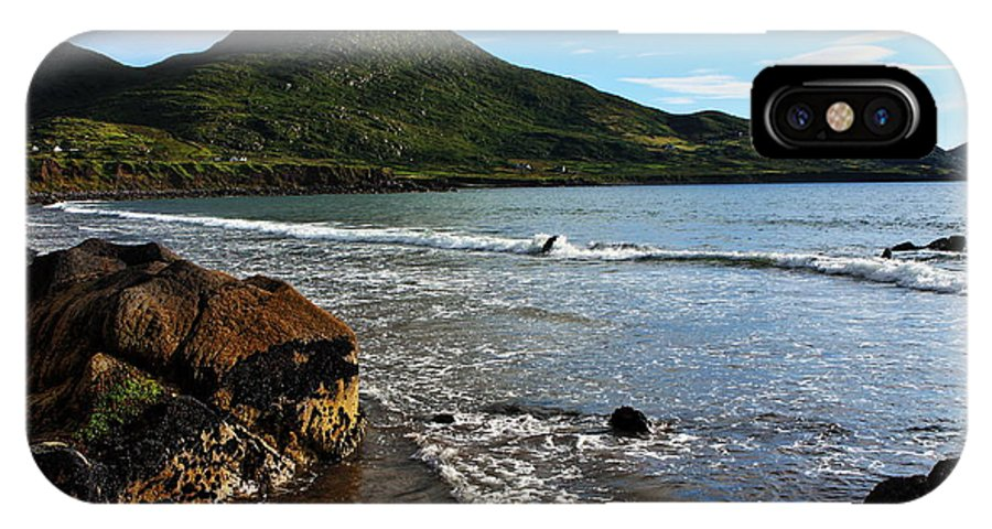 Ireland IPhone X Case featuring the photograph Southern Irish Coast by Aidan Moran