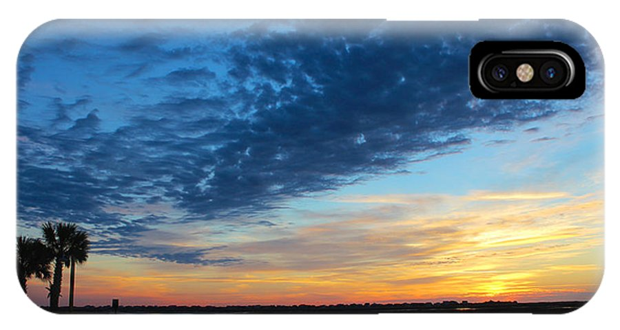 Beach Living Photography IPhone X Case featuring the photograph Southern Sky by Lisa Campbell