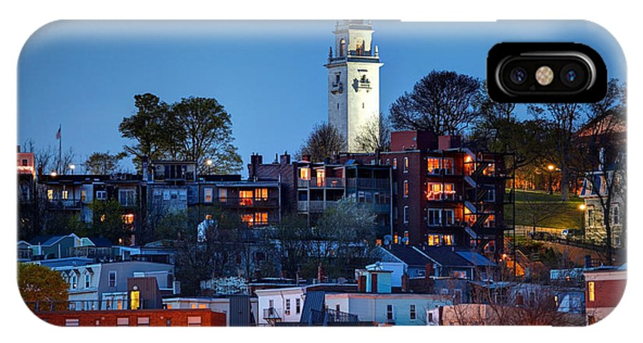 Southie IPhone X Case featuring the photograph Southie by Denis Tangney Jr