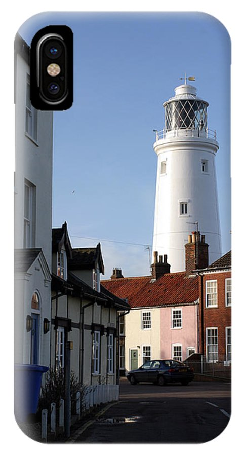 Southwold Lighthouse IPhone X Case featuring the photograph Southwold Lighthouse by Tony Webb