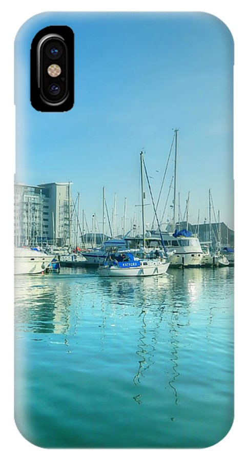 Harbors IPhone X / XS Case featuring the photograph Sovereign 2 by Sharon Lisa Clarke