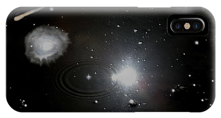 Space IPhone Case featuring the photograph Spacescape by Christopher Rowlands