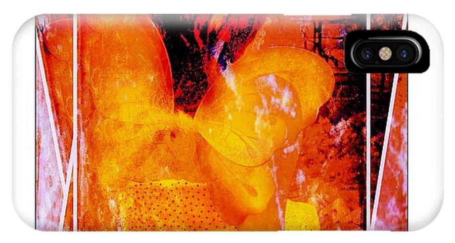Sun Fairy IPhone X Case featuring the photograph Sparkle The Sunbeam Fairy by Ernestine Manowarda
