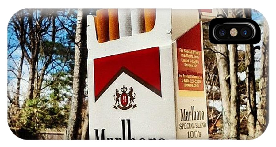 Special Blends Son #marlboro #sunny IPhone X Case