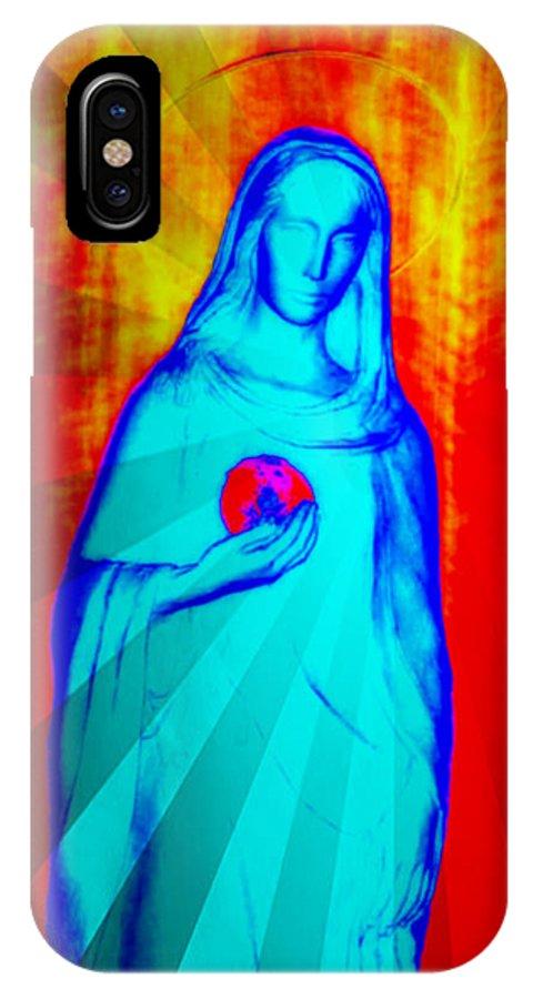 Madonna IPhone X Case featuring the photograph Speranza by Aurelio Zucco