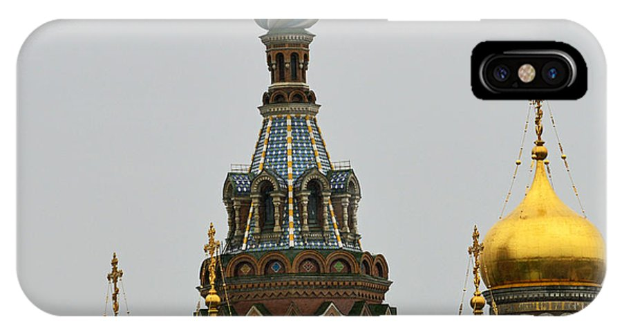 Russia IPhone X Case featuring the photograph Spilled Blood by Harvey Barrison