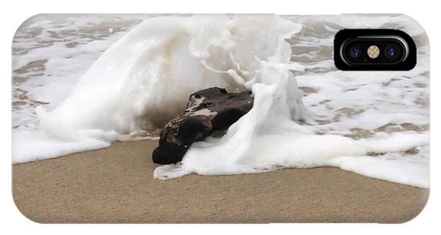 Wave IPhone X Case featuring the photograph Splash by Bradley Bennett