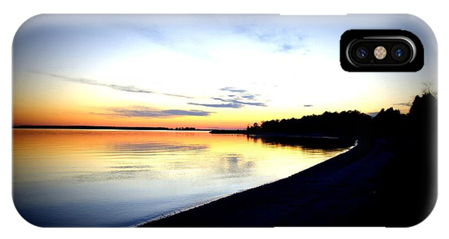 Landscape IPhone X Case featuring the photograph Splash Of Color by Leah VanHoose