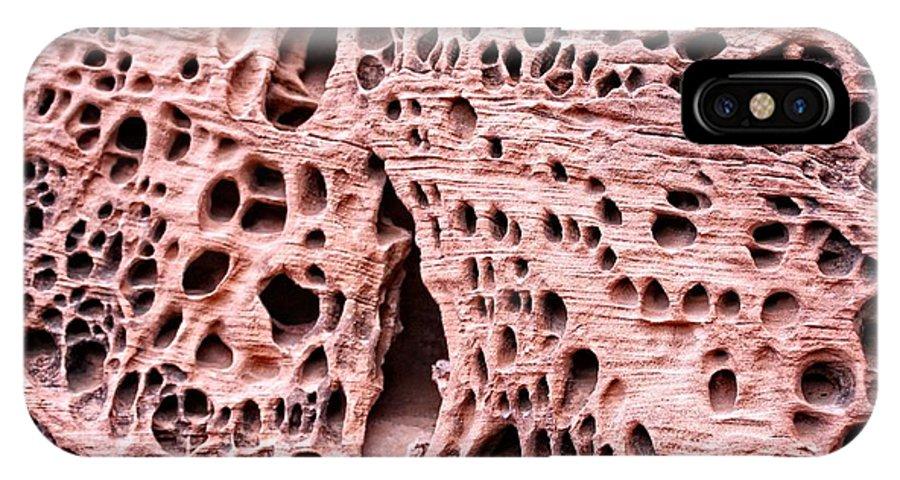 Utah IPhone X Case featuring the photograph Sponge Rock by Brandi Maher