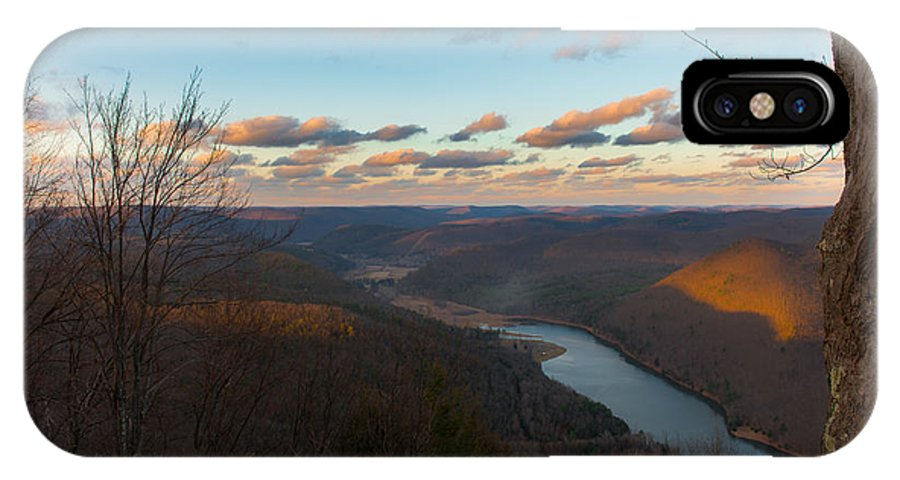 Lake IPhone X Case featuring the photograph Spring Lake by Scott Hafer