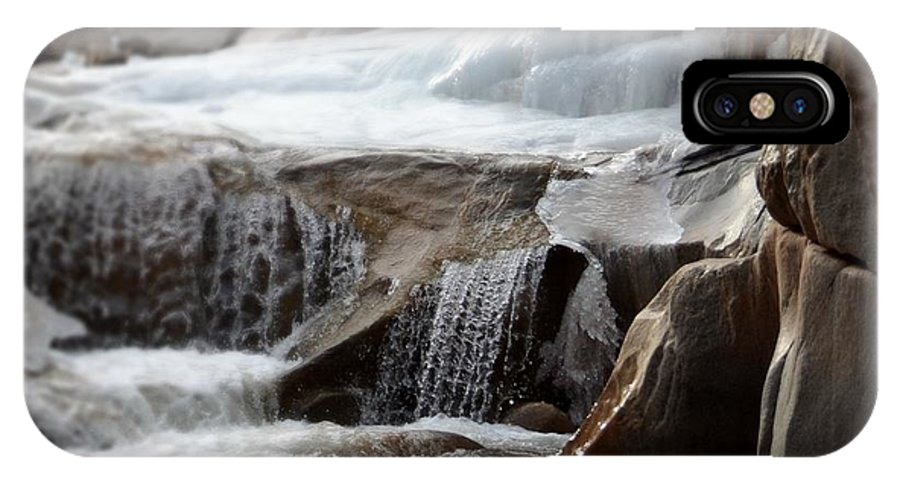 Water IPhone X Case featuring the photograph Spring Rush by Sarah Crawford