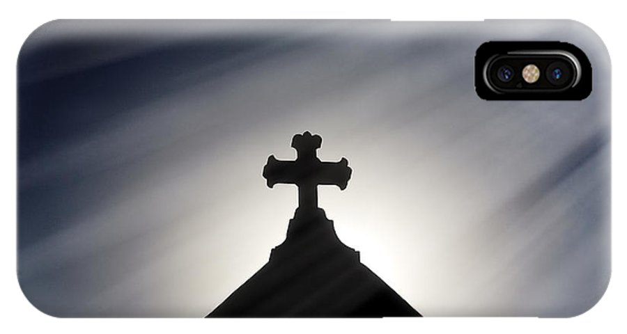 Horizontal IPhone X Case featuring the photograph Sprititual by Jan Tyler