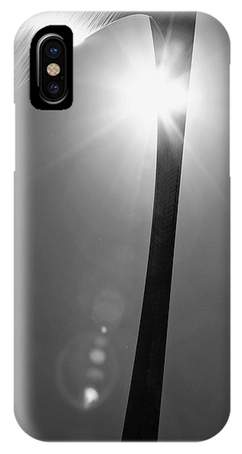 Arch IPhone X Case featuring the photograph St. Louis Arch Iv by Ken Gehring