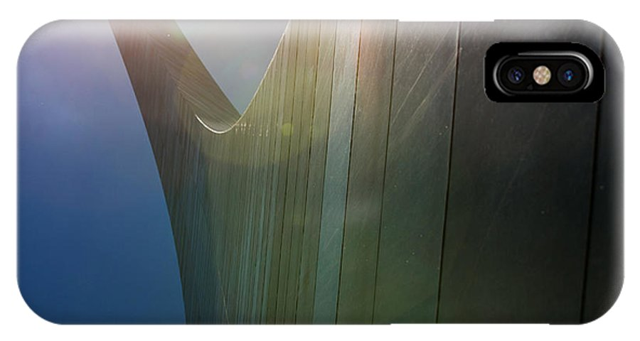 Arch IPhone X Case featuring the photograph St Louis Arch Vi by Ken Gehring