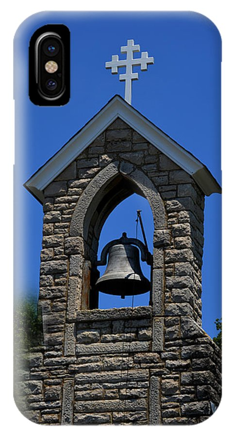 St.mary IPhone X Case featuring the photograph St Mary Magdalene Church Fayetteville Tennessee by Lesa Fine