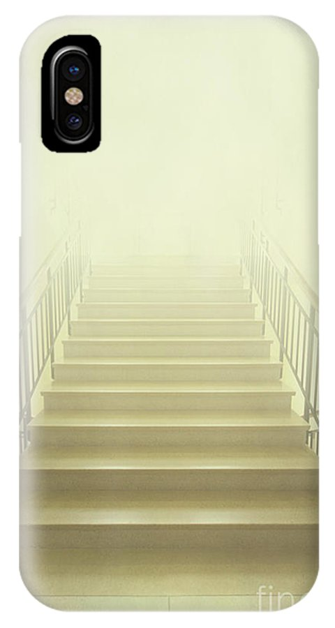 Ahead IPhone X Case featuring the photograph Stairway To Heaven by Evelina Kremsdorf