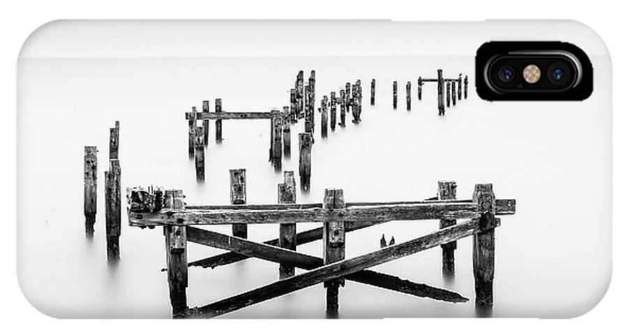 Bridge IPhone X Case featuring the photograph Standing Firmish by Robert Bolton