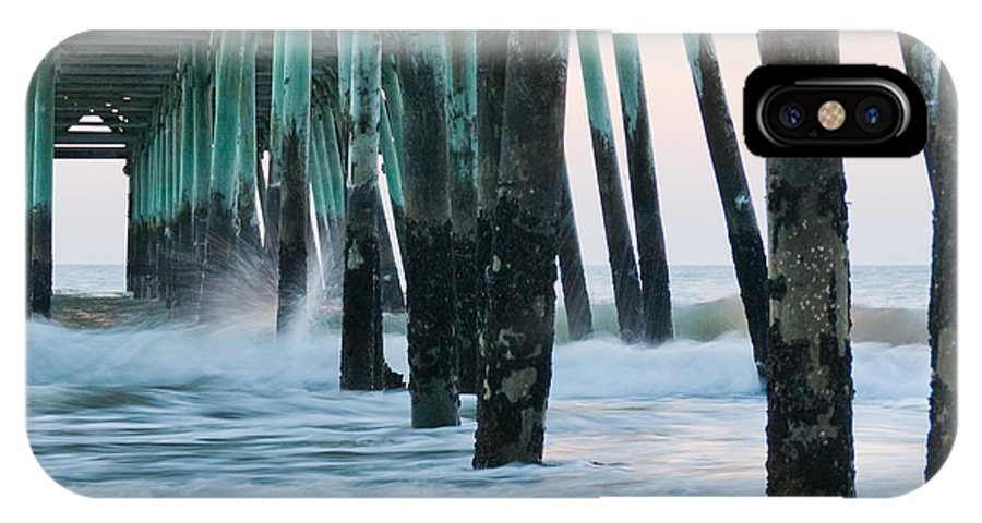 Pier IPhone X Case featuring the photograph Standing Strong by Francis Trudeau