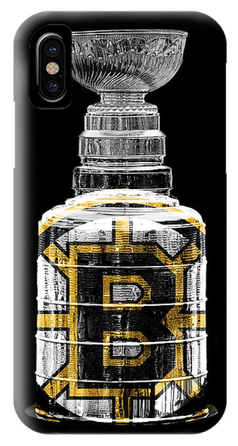 Hockey IPhone X Case featuring the photograph Stanley Cup 3 by Andrew Fare