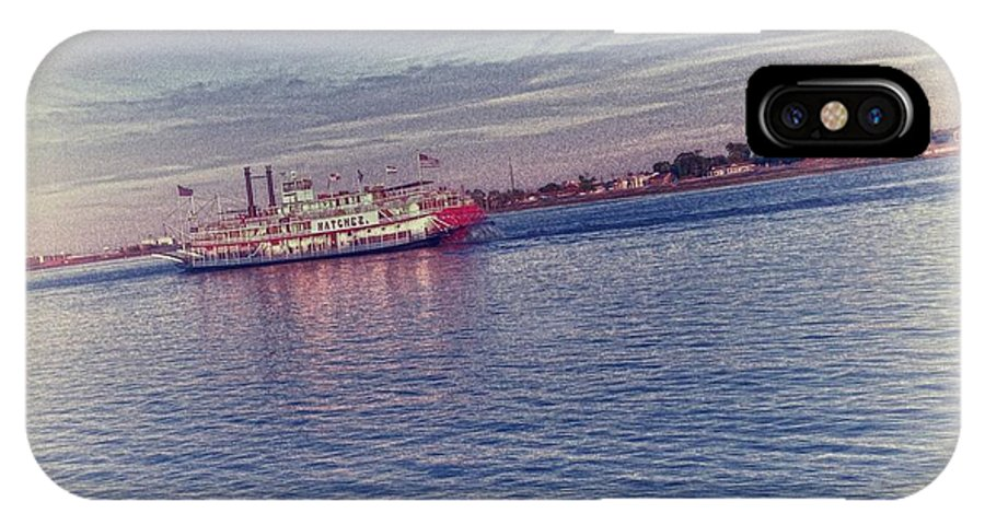 Steamboat IPhone X Case featuring the photograph Steamboat Cruise by Christopher Williams