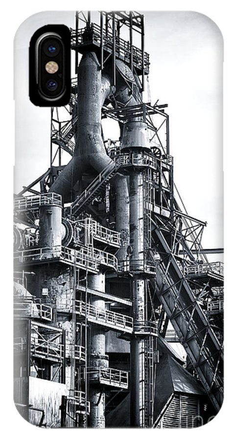 Steel Giant IPhone X Case featuring the photograph Steel Giant by John Rizzuto