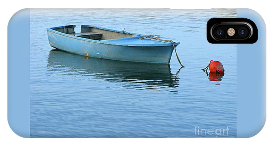 Rowboat IPhone X Case featuring the photograph Still Afloat by Ann Horn