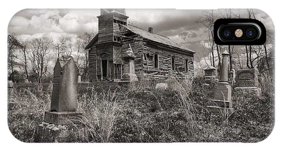 Church IPhone X / XS Case featuring the photograph Still Standing by Dale Kincaid