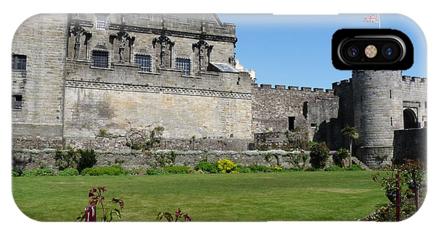 Stirling IPhone X Case featuring the photograph Stirling Castle by Deborah Smolinske