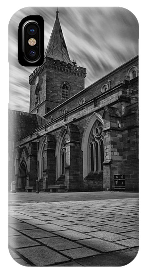 Johns Kirk Perth IPhone X / XS Case featuring the photograph St.johns Kirk Perth by Jamie Moffat